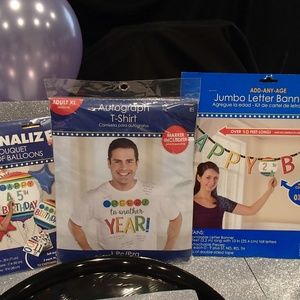 Birthday Party Celebration Package (3PCS)